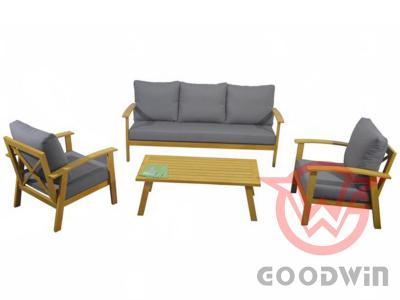 All Weather Country Style Comfortable Cafe Sofa Set
