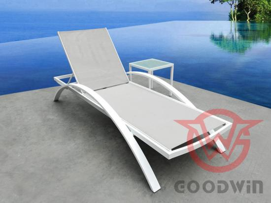 Swimming Pool Lounge With Table