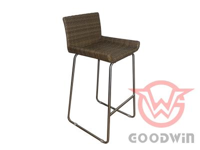 Leisure Outdoor Furniture Metal Frame Rattan Bar Set