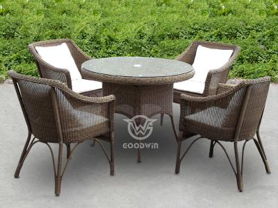 Hand Knitted Wicker Dining Set