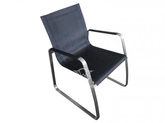 Stainless Steel Frame Dining Chair