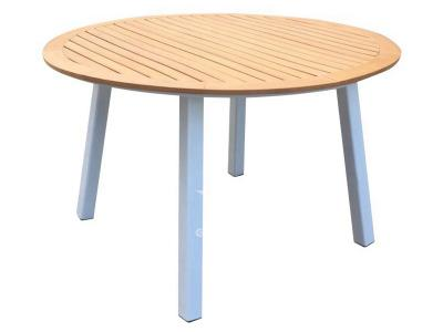 Aluminum Frame Round Table