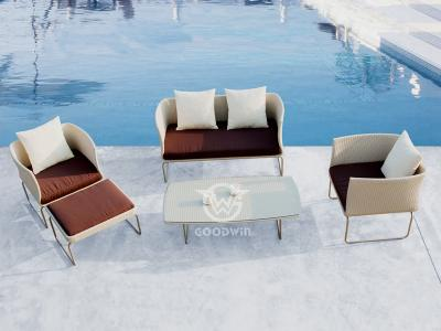 Synthetic Rattan Sofa Set