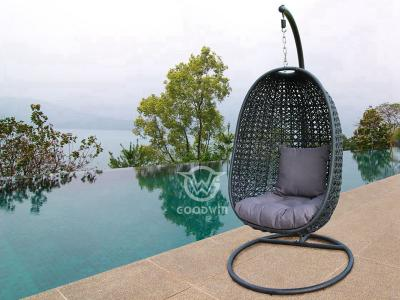 Outdoor Rattan Egg Swing