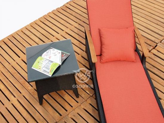 Outdoor Reclining Chaise Lounge