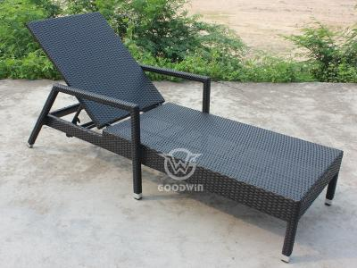 Leisure Outdoor Rattan Wicker Chaise Lounge For Pool