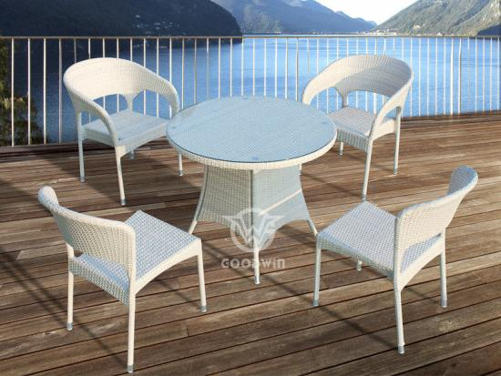 4 Seat Outdoor Dining Set